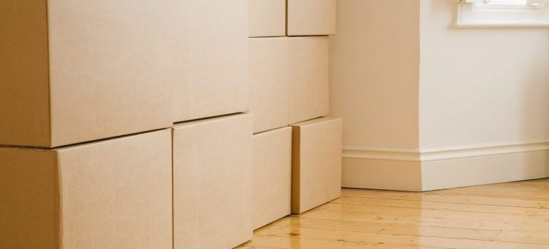 boxes, representing how to make a perfect moving checklist