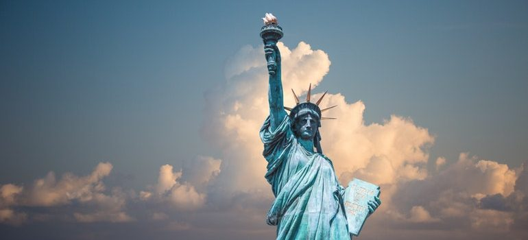 Visiting the landmarks like the Statue of Liberty is one of the ways to get to know your new neighborhood.
