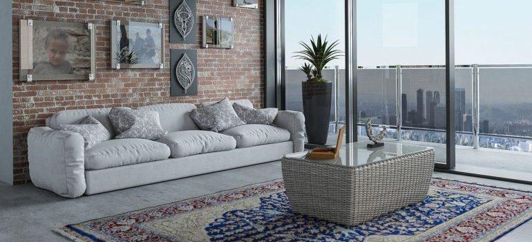 Living room furniture.