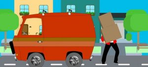 Hire professional movers to help you when moving into a small apartment.