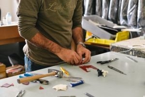 Organize and get proper packing supplies in order to pack your garage before the move!