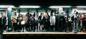 People at the subway