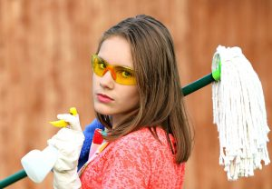If you are planning to sanitize your items before moving you will have to gather proper cleaning supplies!