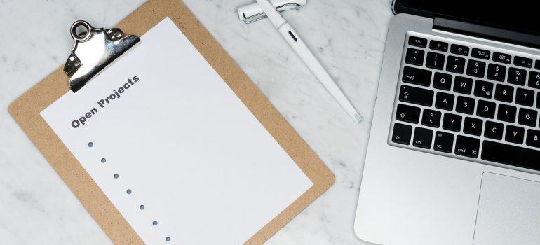 a plannign checklist