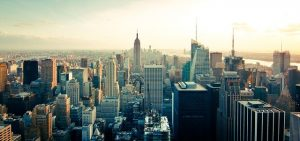 Manhattan skyline can help you handle cold feet when moving to Manhattan