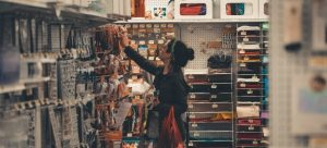 woman in the store