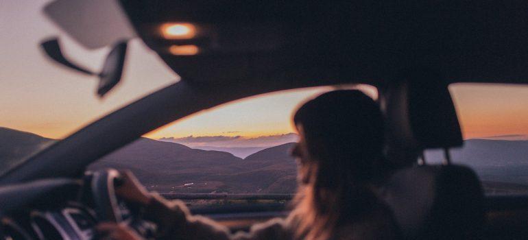 -woman driving