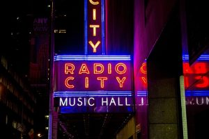 Radio City Music Halls offers many concerts and musical happenings in NYC