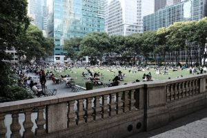 visit parks to adapt to NYC style