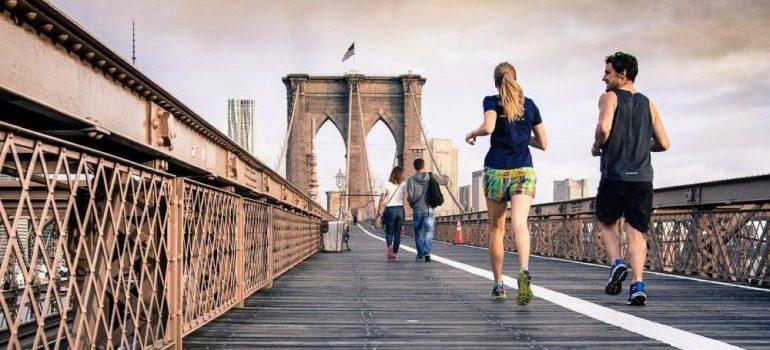 New Yorkers running