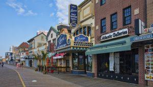 Atlantic City boardwalk- a landmark of New Jersey