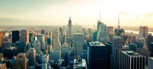 Picture of New York skyline. There are many great places in NYC for art lovers