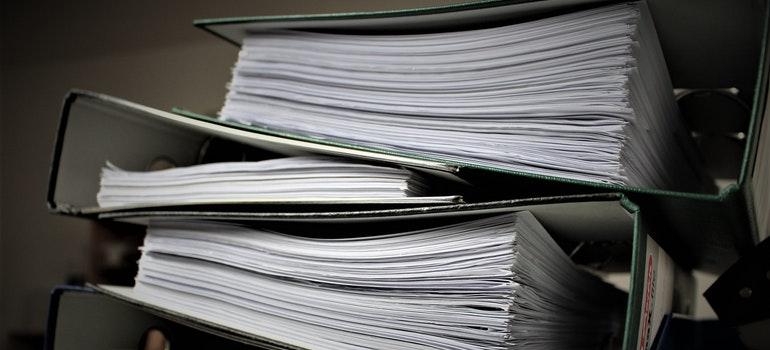 Batch books documents