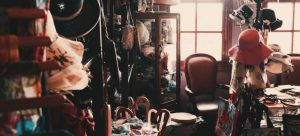 a messy room - quickly unpack your boxes