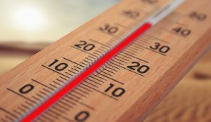 thermometer - protect heat sensitive items