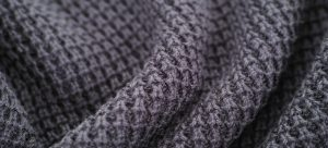 a close view of a thick soft textile
